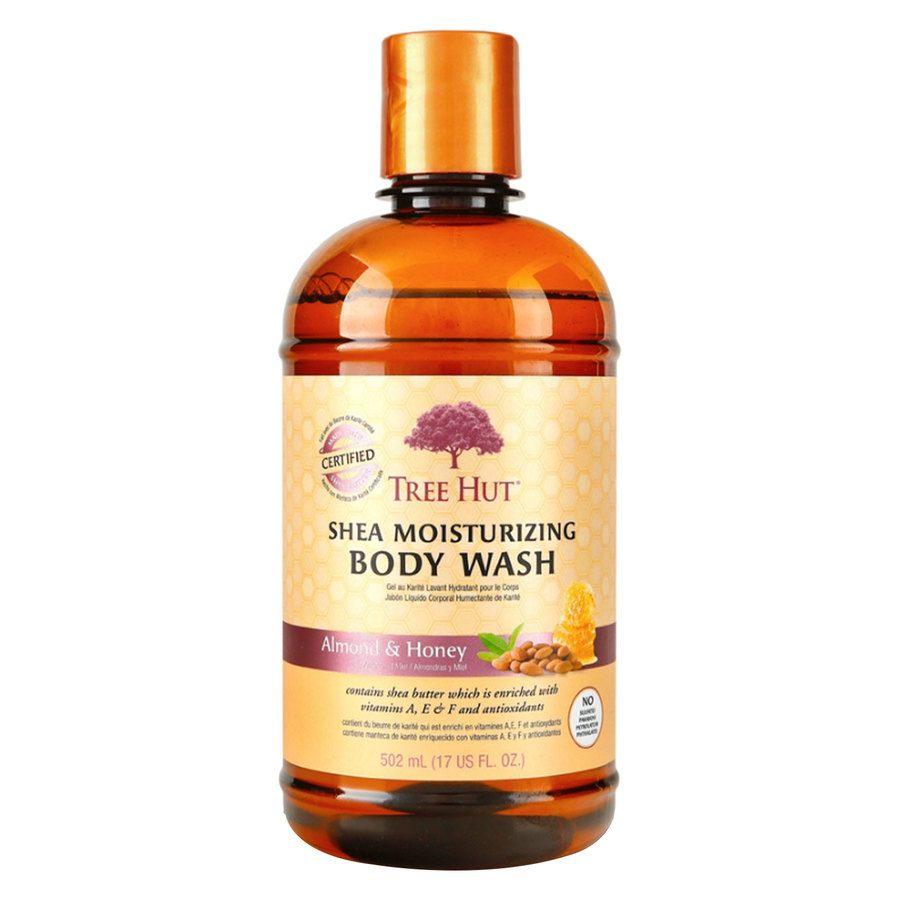 Tree Hut Shea Moisturizing Body Wash, Almond & Honey 503 ml