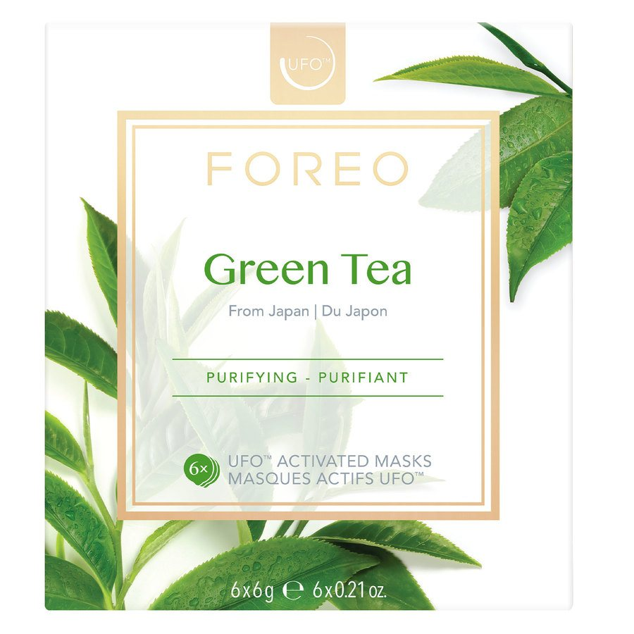 Foreo UFO Mask Green Tea 6 x 6 g