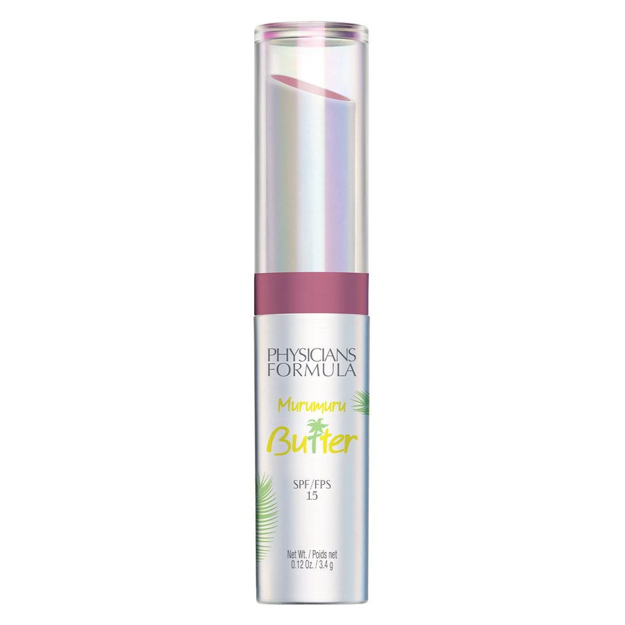 Physicians Formula Murumuru Butter Lip Cream SPF15, Mauvin To Brazil (3,4 g)