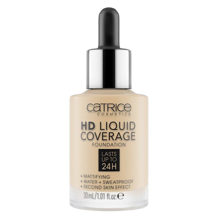 Catrice HD Liquid Coverage Foundation, 008 Fair Beige 30 ml