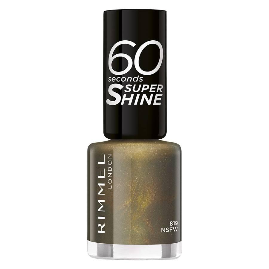 Rimmel London 60 Seconds Super Shine, 819 (8 ml)