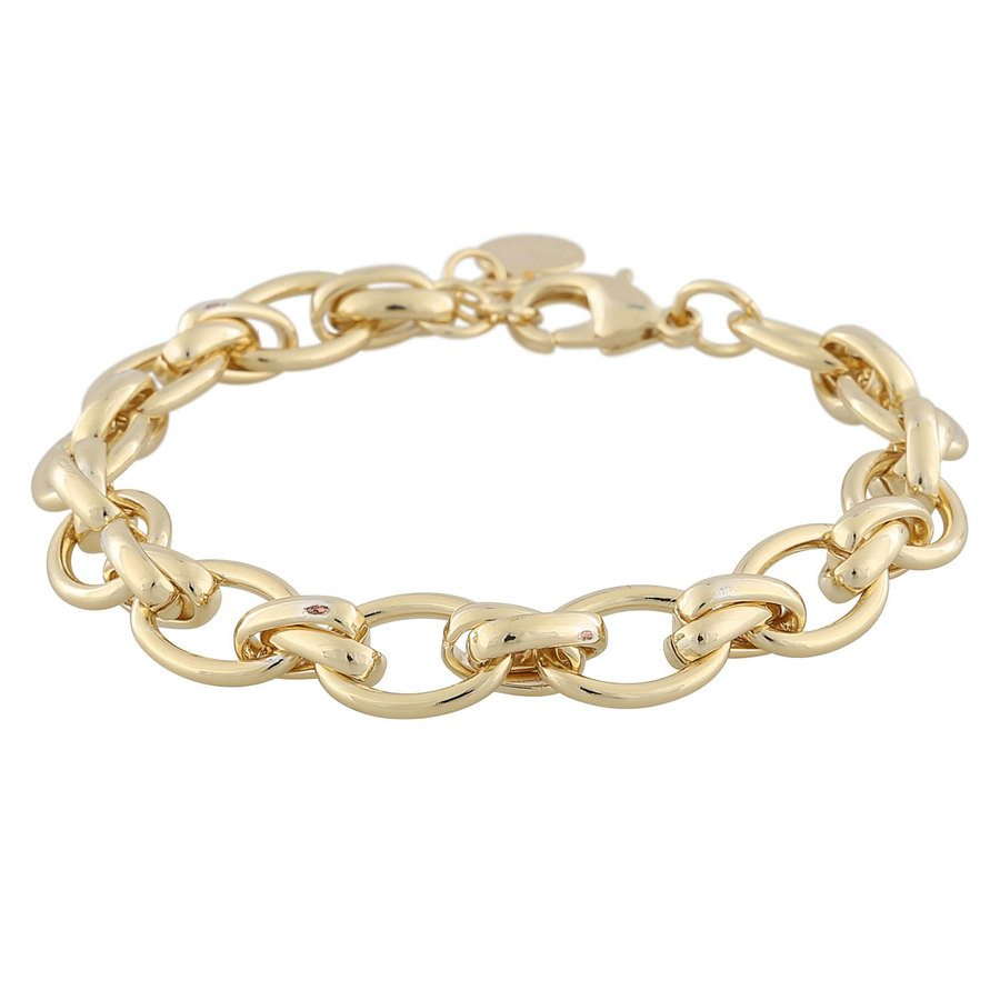 Snö Of Sweden Elma Armband, Plain Gold