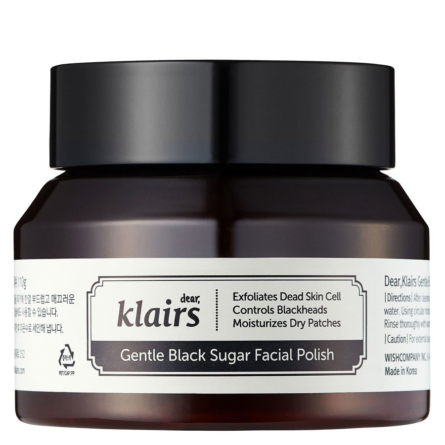 Klairs Gentle Black Sugar Facial Polish (110g)