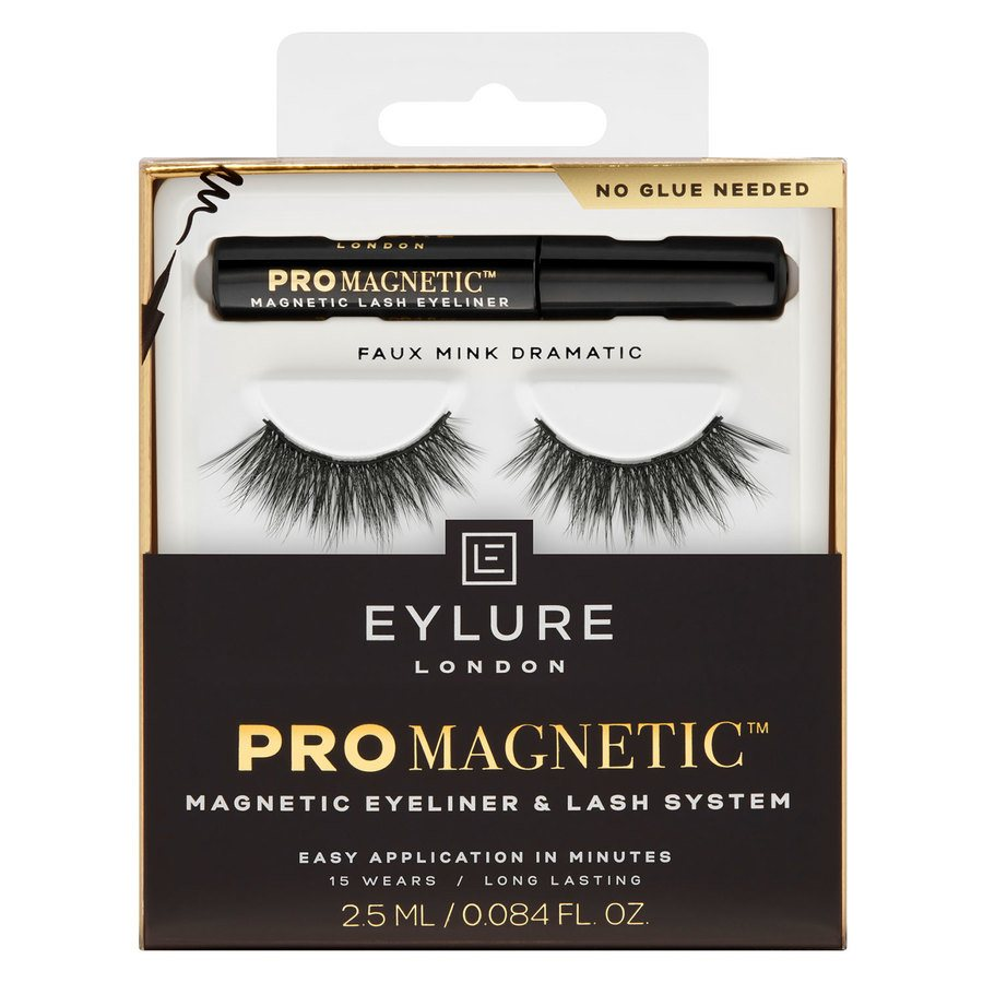 Eylure ProMagnetic Magnetic Liner & Lash System Faux Mink Dramatic