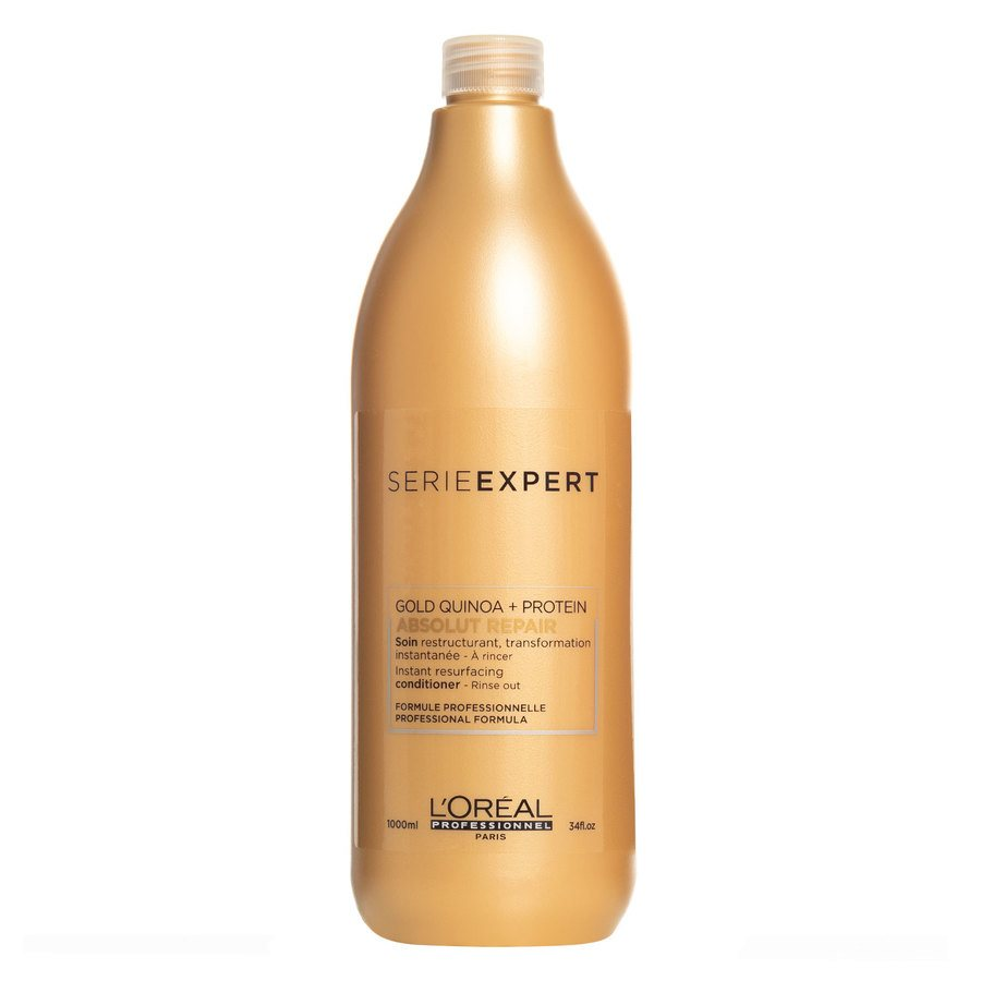 L'Oréal Professionnel Series Expert Gold Quinoa + Protein Absolut Repair Conditioner (1000 ml)