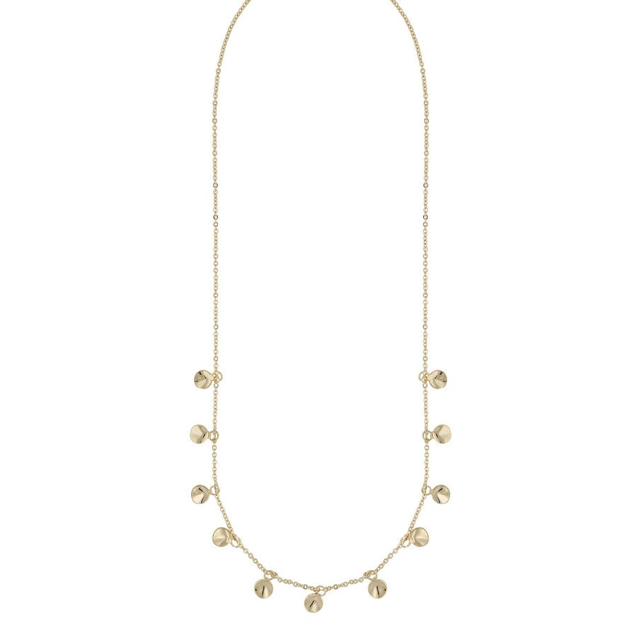 Snö Of Sweden Jain Charm Necklace, Plain (42 cm)