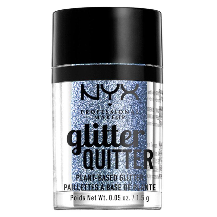 NYX Professional Makeup Glitter Quitter Plant Based Glitter, Purple (1,5g)